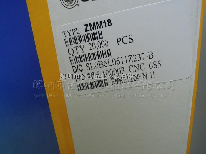 ZMM18V 原装现货,特价出售,实物拍摄,可提供免费样品-ZMM18尽在买卖IC网