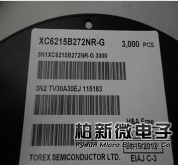 XC6215B272NR TOREX代理商 深圳市柏新电子科技有限公司-XC6215B272NR尽在买卖IC网