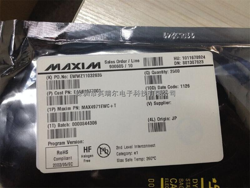 MAX4971EWC+-MAX4971EWC+尽在买卖IC网