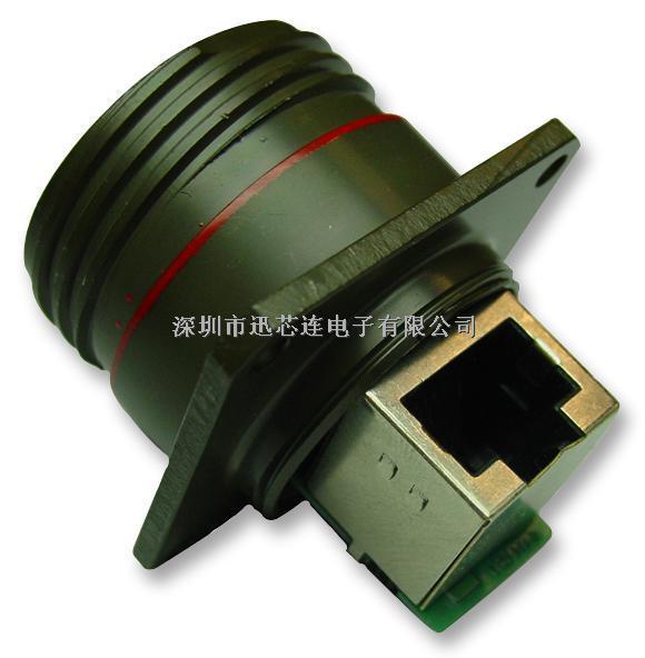 连接器, 母, rj45, 密封, 方形法兰安装-rjftv21rag尽在买卖ic网