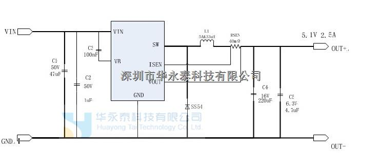 电路  lm5165/lm5165q 具有超低 iq 的 60v,100ma 双模同步降压稳压器