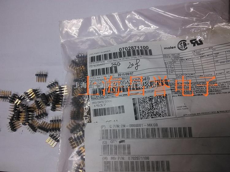 molex连接器0702871100原厂原装正品现货-尽在买卖IC网