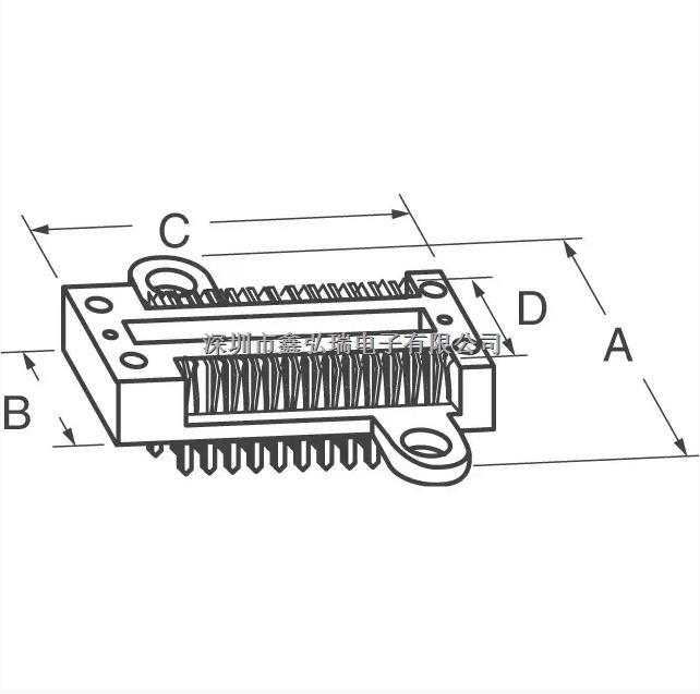 228-4817-19-0602J DIP-28 3M系列 锁紧插座 测试座-228-4817-19-0602J尽在买卖IC网