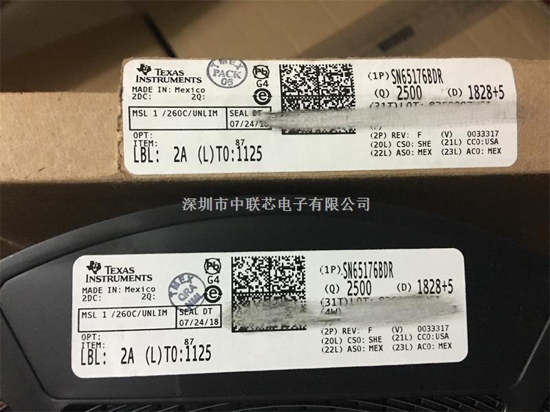 接口 IC   RS-422/RS-485 接口 IC   Texas Instruments SN75176BDR-SN75176BDR尽在买卖IC网