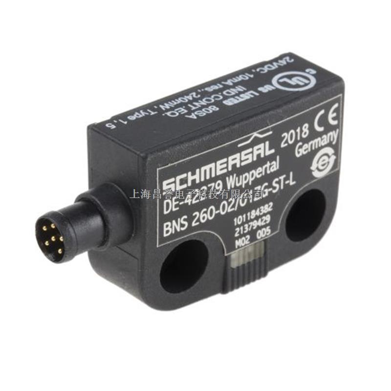德国SCHMERSAL施迈赛 BNS 260-02/01ZG-ST-L非接触式安全开关磁性传感器上海昌誉原厂直供-尽在买卖IC网