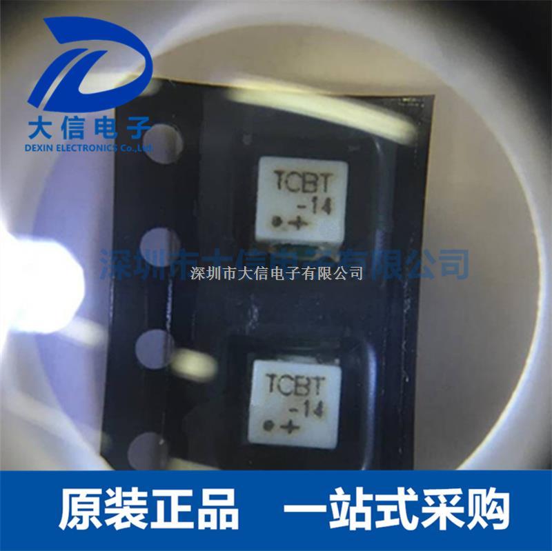 TCBT-14+ MINI SMD 偏置器 放大器 射频RF变压器-TCBT-14+尽在买卖IC网