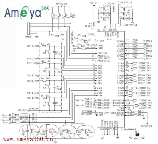 ucd9244控制电路图