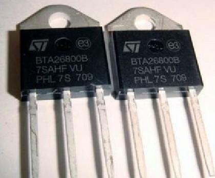 双向可控硅 bta41-800brg打字丝印bta41800b