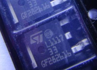 ld1117dt33tr 打字丝印 l111733 pmic - 稳压器 - 线性