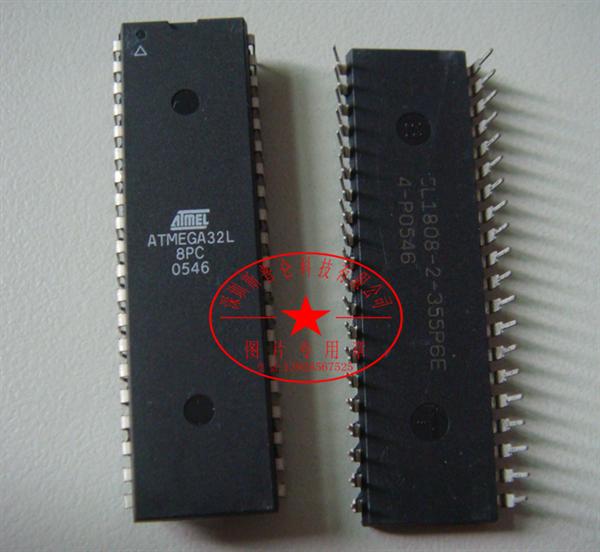 集成电路atmega32l-8pc