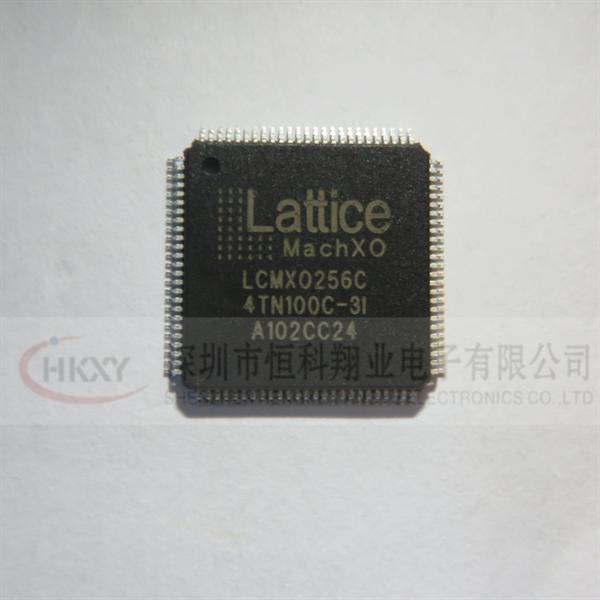 恒科翔业供应集成电路ic lcmx0256c-4tn100c-3i 进口原装ic芯片支持配