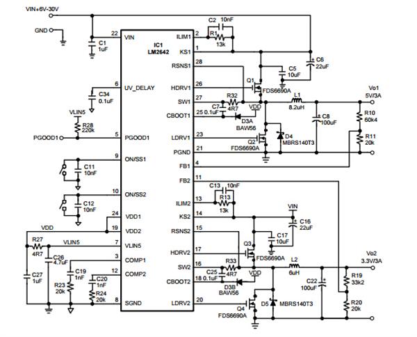 lm2642mtcx应用电路