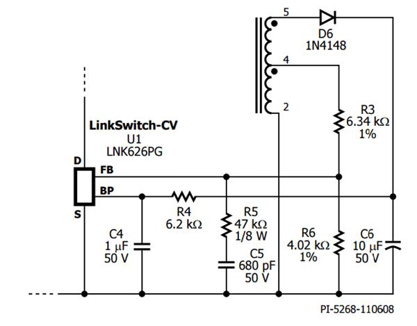 lnk625dg电路原理图