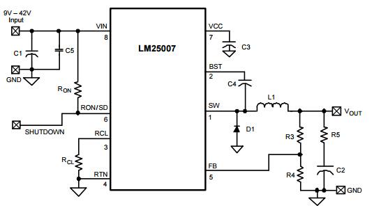 tl494电感降压电路图
