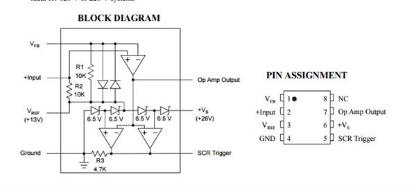 低功率地线断路器IL4145AN是一个低功率控制器的AC插座接地开关管。这些设备检测危险接地条件,如设备(AC线)连接到相反的阶段接触一个水池和开放电路发生在有害或致命的冲击。包含内部是一个26 v稳压并联调整器,一个运算放大器,一个可控硅驱动程序。外加两个变压器,桥式整流器,可控硅、继电器,和一些额外的组件,IL4145AN将检测和防止热线地面和中性线接地故障。简单的布局和传统设计确保易于应用和长期可靠性。?