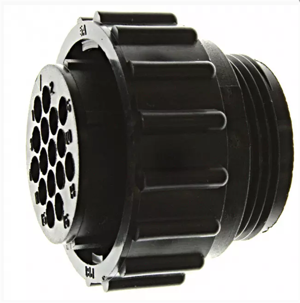 原装现货te圆形电源连接器206554-1可供样期货优势