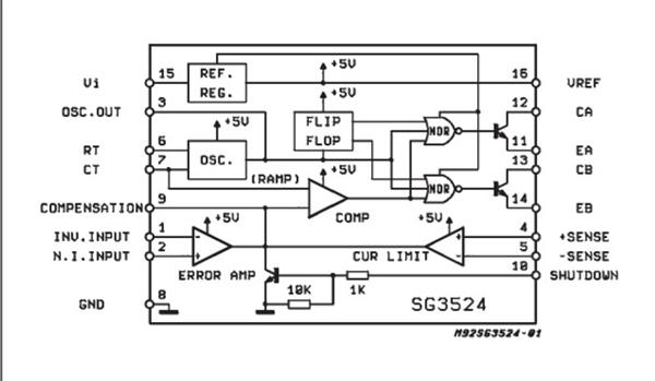 dc直流变压电路图