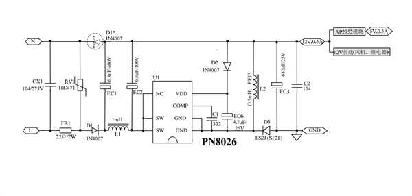 电路 电路图 电子 原理图 600_286
