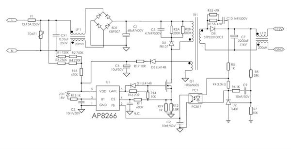 5mhz同步整流,省电pwm模式,输出最大电流1000ma  ap2420ime / ap2420