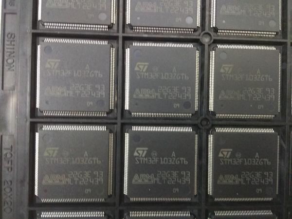 单片机 stm32f103zgt6 lqfp144 专营st 全新原装
